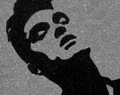 Morrissey Glitter Portrait