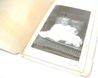 1900s Baby Photo Card