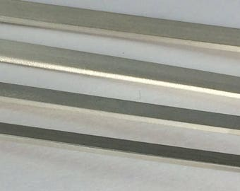 925 Sterling silver flat wire, 20g thick Half Hard, handstamping wire, cuff wire, wide ring wire, for handstamped bars