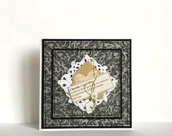 Cherish Handmade Card