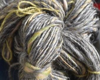 Over the Blue Moon     Hand spun yarn.   118 yards; 6.1 oz