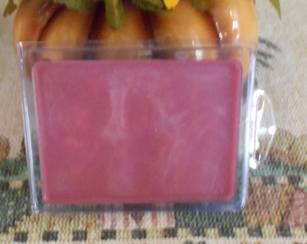 Three Packages of Scented Wax Melts for Wax Melt Warmers: Autumn Lodge type, Autumn Pear, and Baby Magic