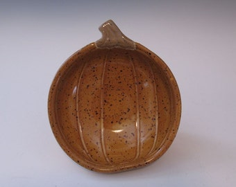 Pumpkin Harvest Serving Bowl Plate - In Stock - Hand made