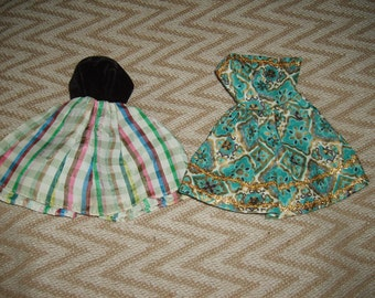 Two vintage dresses-Barbie size