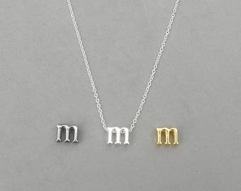 Initial m Necklaces