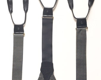 Button Suspenders - Mens Suspenders - Mans Suspenders Men - Novelty Suspenders -  Clip Suspenders