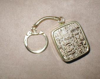 "Vintage SANKYO Mini Music Box Keychain plays ""My Way"""