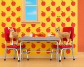 Mid century retro kitchen wall art print: Fawning