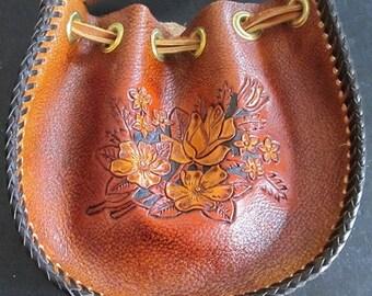 Leather Stirrup Purses