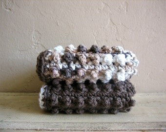 Cotton Crochet Dishcloths