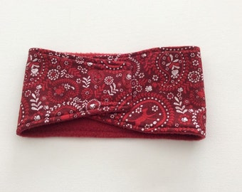 Dog Diaper - Male Dog Belly Band - Red Dog Print - Available in all Sizes