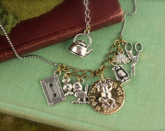 Over the Garden Wall Inspired Charm Necklaces