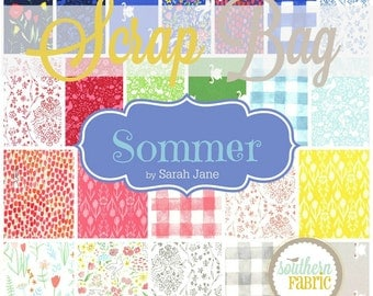 Sommer - Scrap Bag Quilt Fabric Strips by Sarah Jane for Michael Miller Fabrics