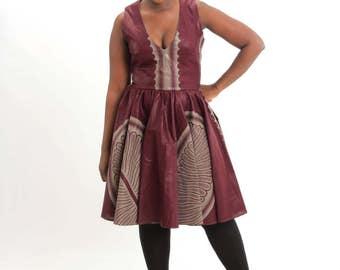 Grace circle dress