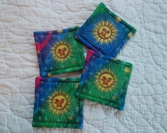 Sun Coasters (Set of 4)