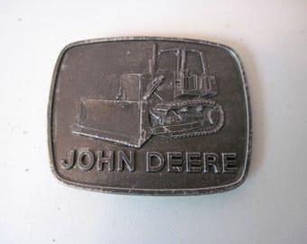 Vintage John Deere Belt Buckle