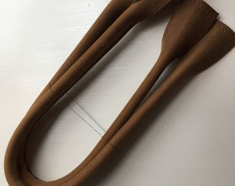 a pair of 19.5 to 26 inch real leather purse handles purse making supplies high quality