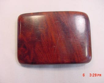 Vintage Redwood Burl From California Belt Buckle  17 - 655