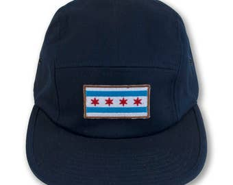 Chicago Flag 5-Panel Hat
