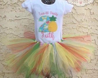 Two-tti Fruity Tutu Set Outfit
