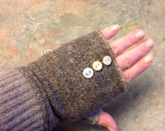 One of a kind ladies fingerless gloves