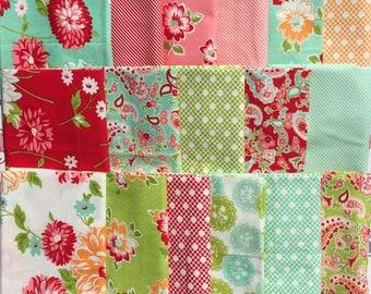 Scrumptious Bonnie & Camille moda fabric 17 FQ set OOP HTF Please Read