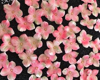 Gum paste edible hydrangeas (Pink)