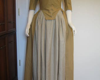 Linen Cotton Colonial Dress size 10