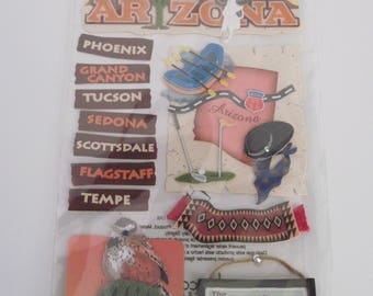 Jolee's Boutique ARIZONA Dimensional STICKERS - 12 Pieces