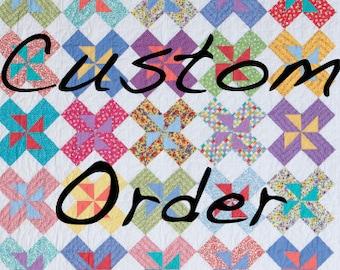Custom Order Quilt for Lisa M.