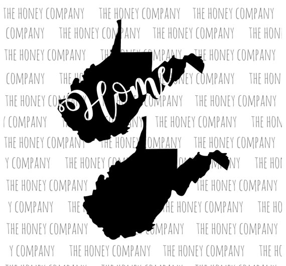 west virginia svg png dxf state home outline instant download silhouette cricut cut files cutting machine string art template vector file from