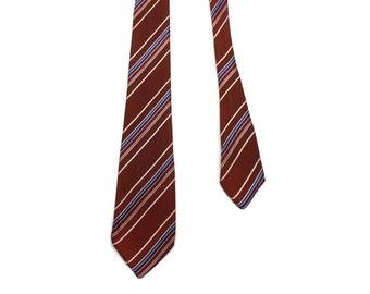 vintage 1940s necktie • Jacquard weave