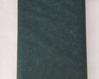 "Dark Green Blender 108"" wide back 100% cotton fabric"