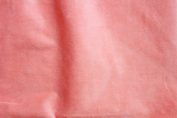 Orange Fine Wale Corduroy Fabric 3 4 Yd Bright Orange