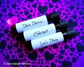 GOTHIC LOVE™ Perfume Sample Set - Valentine's Day - Gothic Perfume - Valentine's Perfume - Perfume Samples