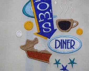 Kitchen Towel - Mom's Diner