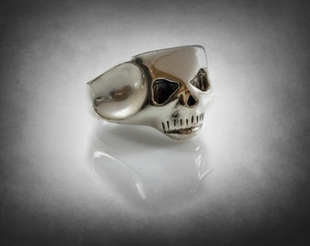 Iggy POP Skull Ring Solid Sterling Silver 925 1/1 Form the Album Cover Cd Lp