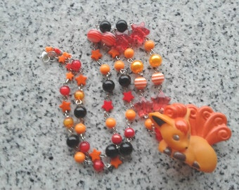 Pokémon Necklace - VULPIX - Figure Necklace - Pokemon GO