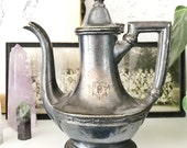 Vintage Silver Teapot from Hotel Pennsylvania NYC