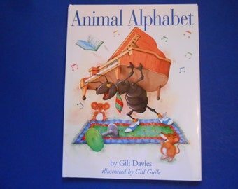 Animal Alphabet, a Vintage Children's ABC Book, Gill Davies