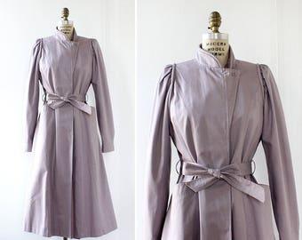 Trench Coat S/M • Spring Coat • Princess Coat • Purple Jacket • 80s Jacket • Pastel Jacket • Spring Jacket • Light Jacket   O194