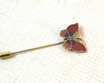 Women's Butterfly lapel pin