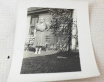 vintage photo black white ephemera scrapbook paper craft