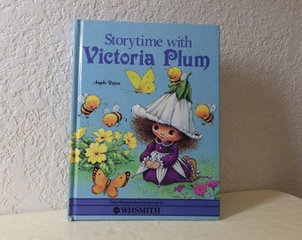 Children's Book:  Storytime with Victoria Plum, Angela Rippon, 1983. Hardcover.