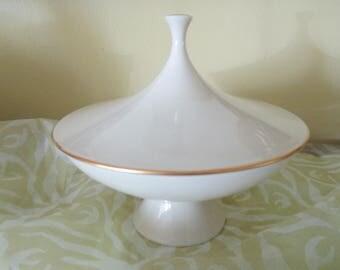 Vintage Lenox Covered Pedestal Dish
