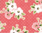 Olive's Flower Market - Nosegay in Rouge by Lella Boutique for Moda Fabrics