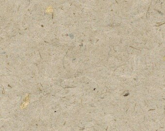Kozo Gold Handmade Paper 16x20 - Large Deckled Edge Eastern Rice Paper
