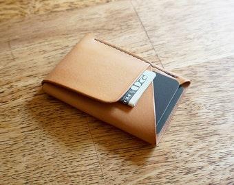 Double-Cross Wallet (Veg Tan)