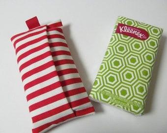 Tissue Case/Red Stripe