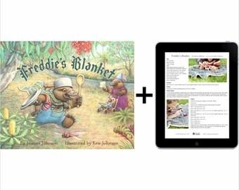 Freddie's Blanket book & digital patterns